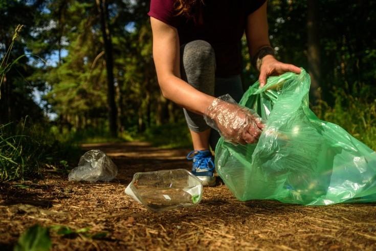 Экологический плоггинг в рамках Всемирного дня чистоты